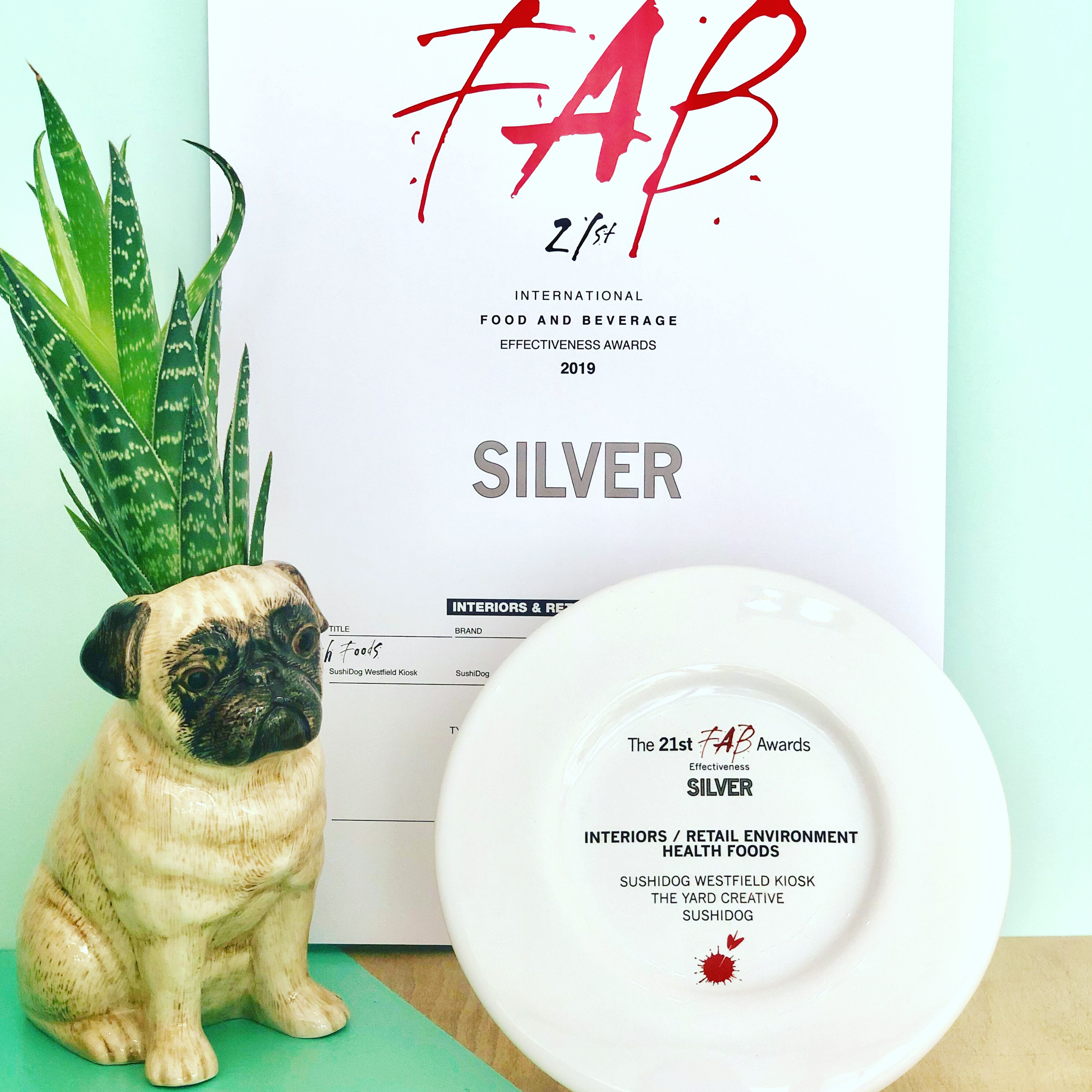 WINNER: SushiDog at FAB Awards 2019