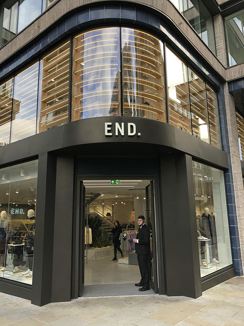 END. Clothing Store