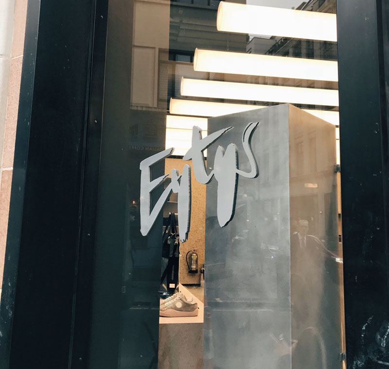 EYTYS store front