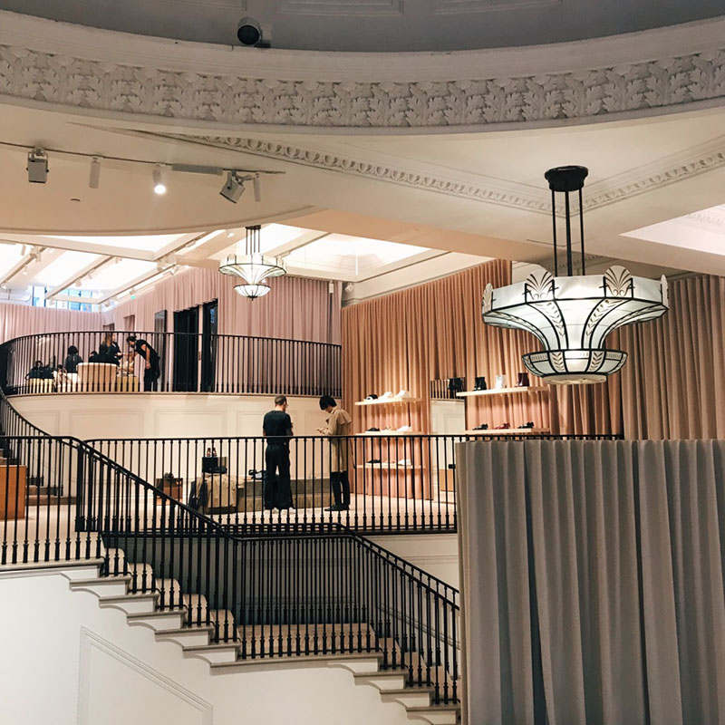 BLOG: TYC Visits; Burberry Installation, Regent Street
