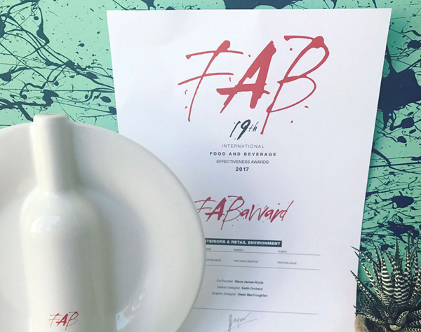 Latest news: TYC WINS at FAB Awards 2017