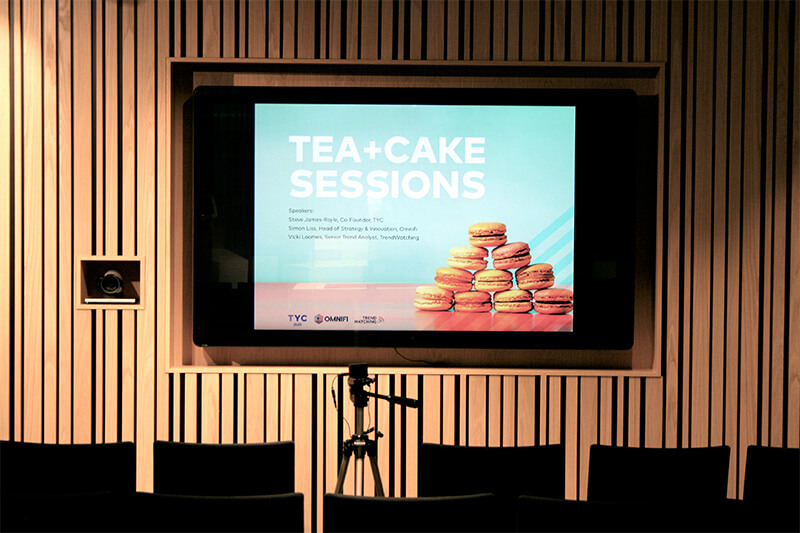 Tea and Cake Innovation Sessions