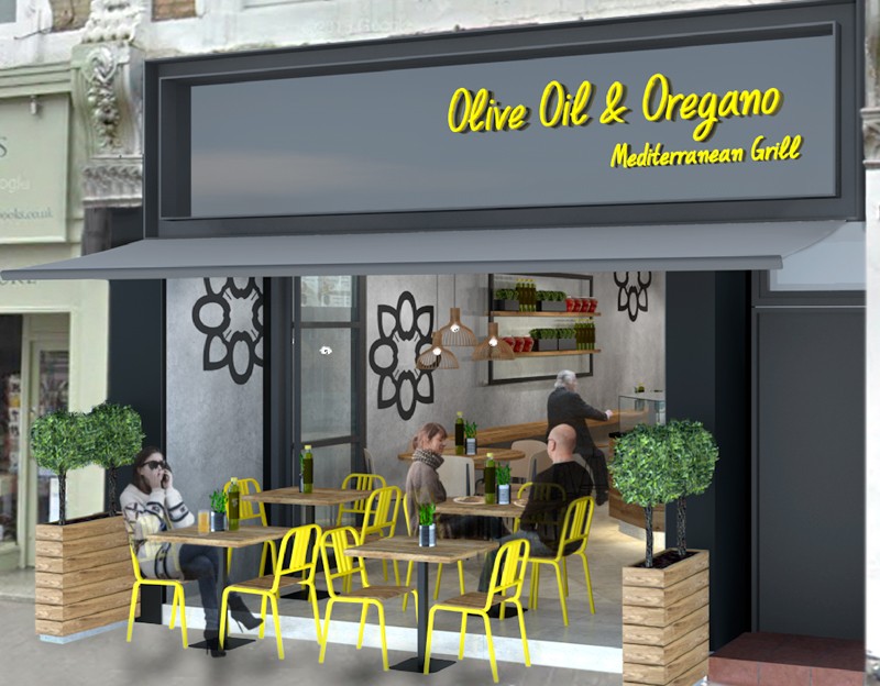 Olive Oil & Oregano pitch in for South Ken