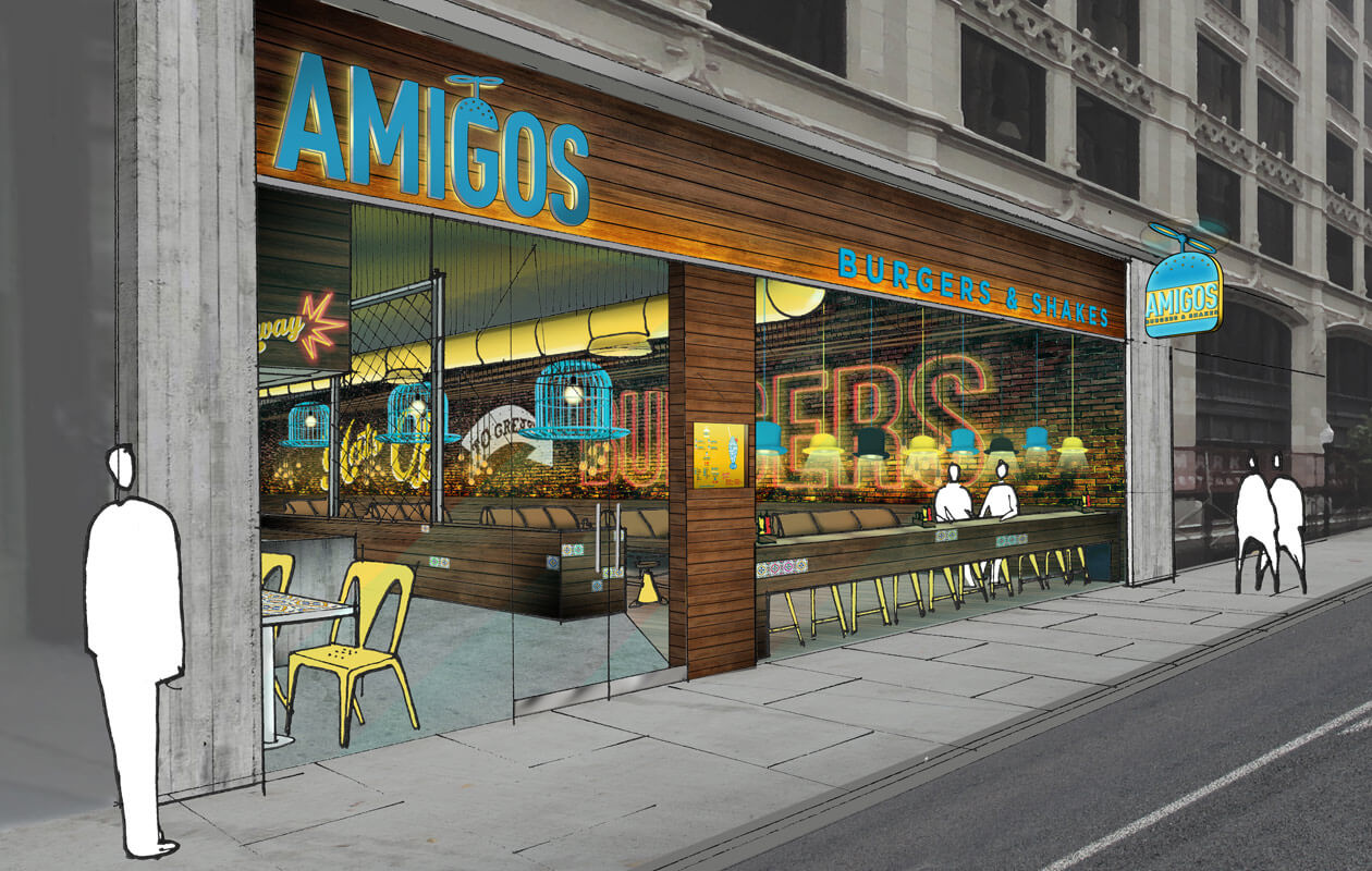 Read more about Amigos Burgers & Shakes