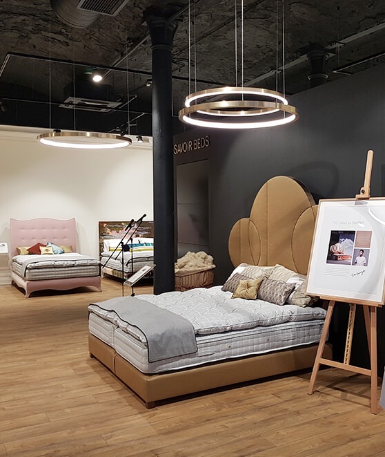 Savoir Beds Showroom